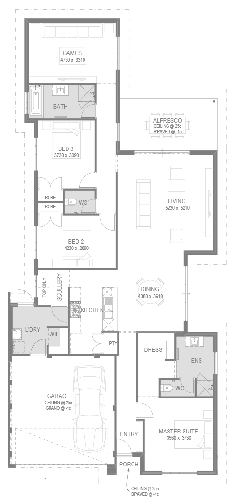 The Andorra Floorplan by GO Homes