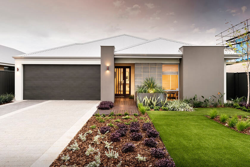 The Carlton Elevation by GO Homes