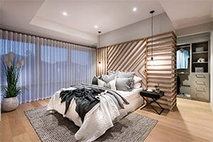The Importance of Texture Bedroom by GO Homes