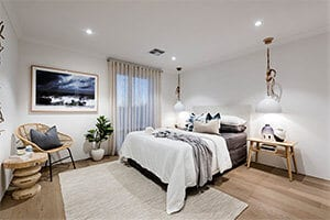 Move Over Black Say Hello To Navy Bedroom by GO Homes