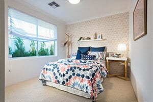 Move Over Black Say Hello To Navy Master Bedroom by GO Homes
