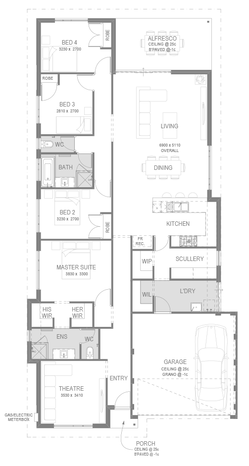 Eden Beach Estate Floorplan by GO Homes