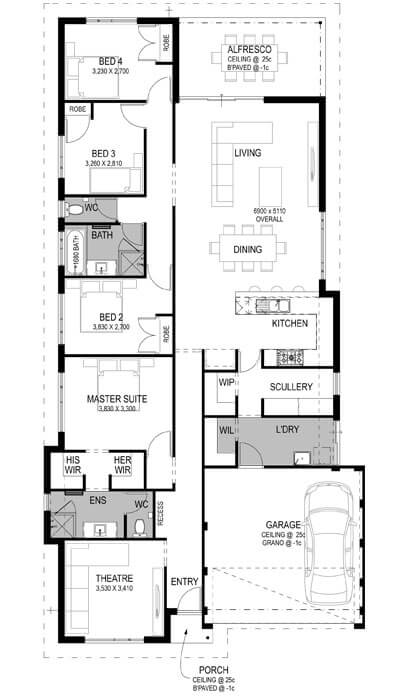The Vale Estate Floorplan by GO Homes