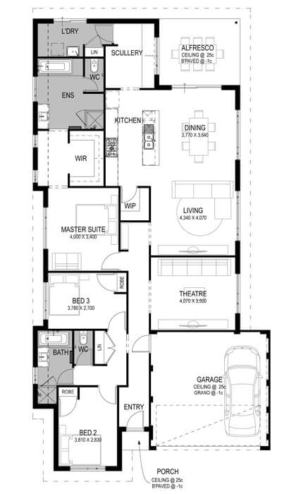 The Madox Estate Floorplan by GO Homes