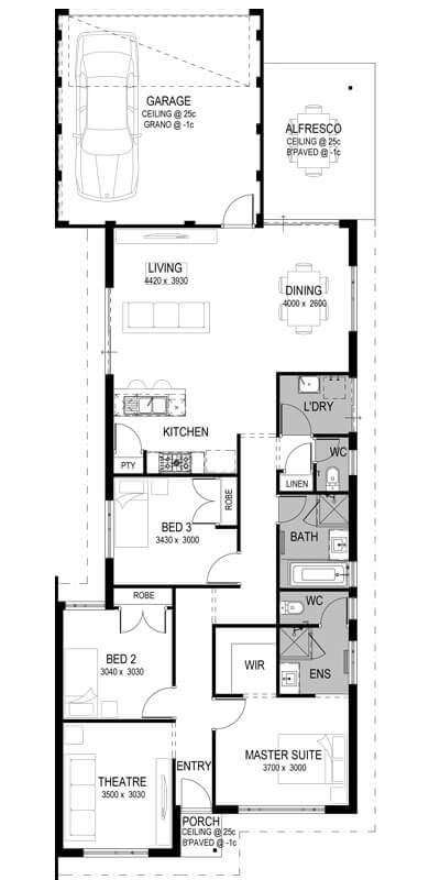 Banksia Grove Floorplan by GO Homes