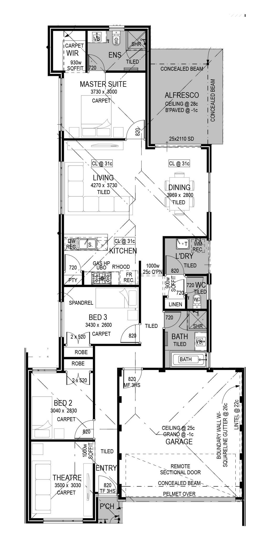One71 Estate Floorplan by GO Homes