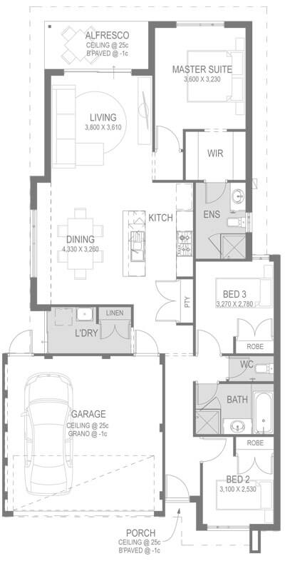 The Cronos Floorplan by GO Homes