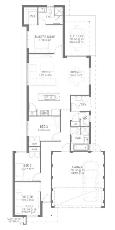 The Torus Floorplan by GO Homes