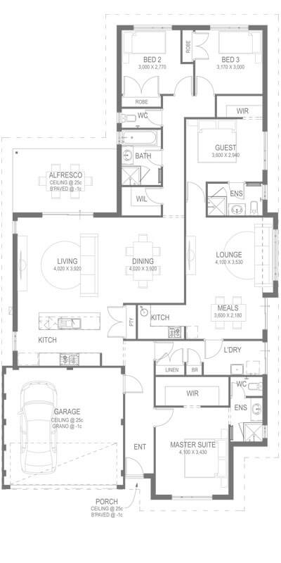 The Triton Floorplan by GO Homes