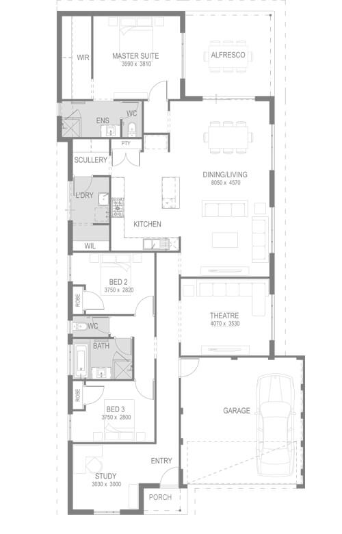 The Glendale Floorplan