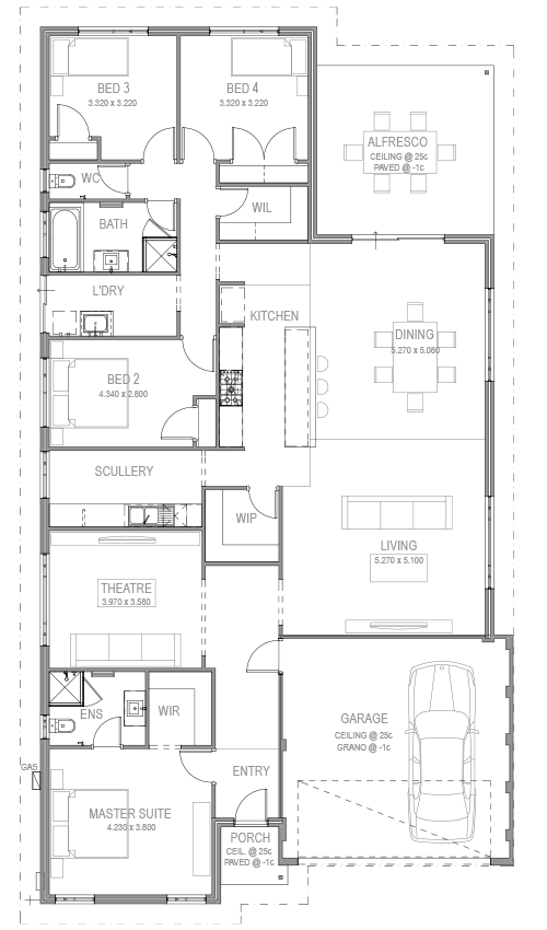 The Pasqual Floorplan by GO Homes