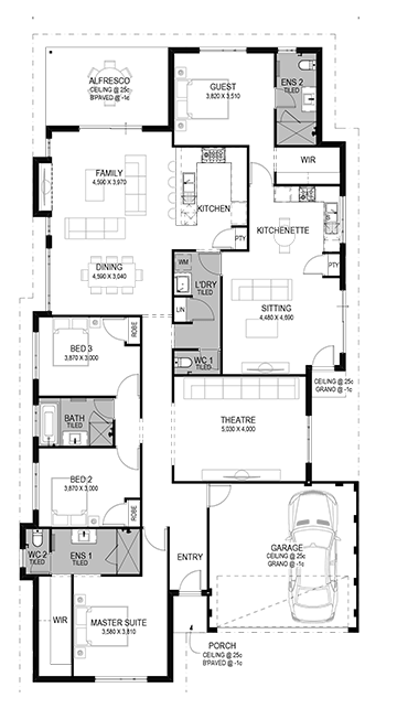 The Collier Floorplan by GO Homes