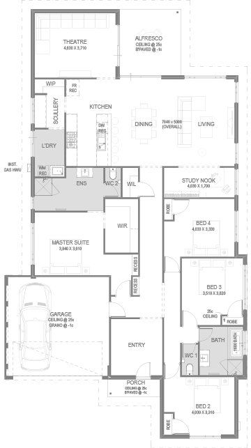 The Anders Floorplan by GO Homes
