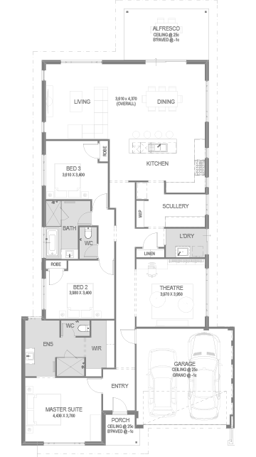 The Forest Floorplan by GO Homes