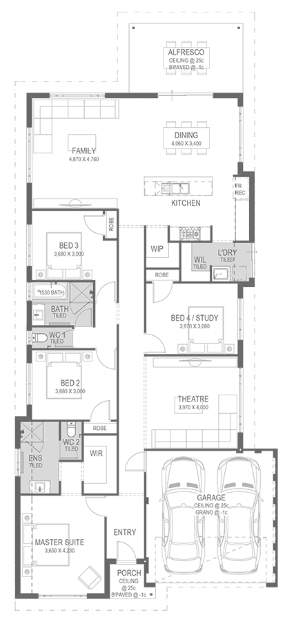 The Taylor Floorplan by GO Homes