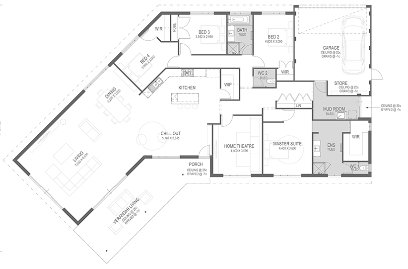 The Boronia Floorplan by GO Homes